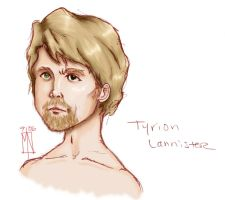 Tyrion Lannister - Portrait by anowyn