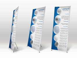 Stand Display mockup by MisGraphics
