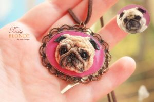 Lucy The Pug by imge