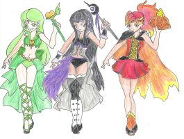 Sailor Magical Girl Adoptables by iCheddar