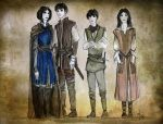 Abhorsen family by LauraTolton
