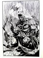 Batman Rainfall by NewEraStudios