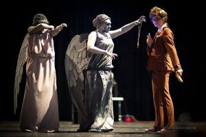 CS'11 DW - Weeping Angels and 10th by Hermy46