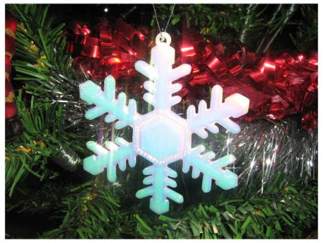 Snowflake Christmas Deco by The-Fairywitch
