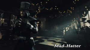 Mad Hatter Wallpaper 02 by BatmanInc