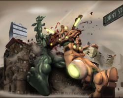 Giant Robot vs Monster by Sunny-GO