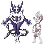 Mewtwo Redesign for JustinNuggets' contest by ajkent14z