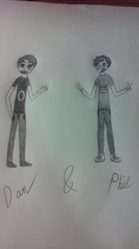 Dan and Phil!!! by Patches2741