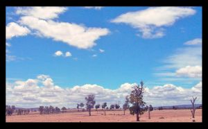 Sun Burnt Country by hecxadecimal