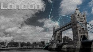 London Wallpaper by BizzyBeOne