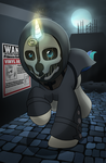 Dishonored Commission by drawponies
