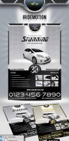 Iridemotion Automotive Flyer by Saptarang
