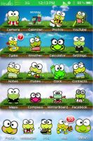 Keroppi iPhone Theme by aktanner