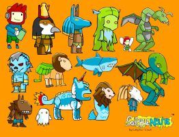 Scribblenauts Creatures by Citachi