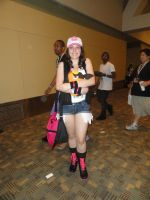 Pokemon Black and White female trainer cosplay by ShizNat4EVER
