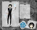 Rosette-Academy Application : Peter by Sabrixin