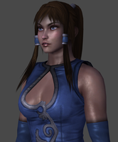 Korra (New) W.I.P. by TheRaiderInside