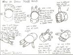 How To Draw Sonic Hands by SONICJENNY