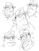 Bullock Rough Sketches by charle88