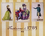 Fashions of 1785 wallpaper by olde-fashioned
