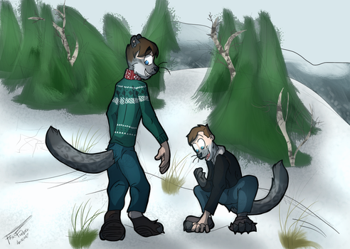Commission - Snep! (2) by Fox-Fireborn