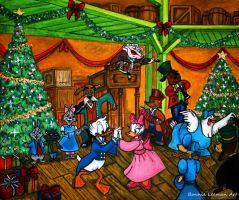 Fezziwig's Christmas Party by Bonniemarie