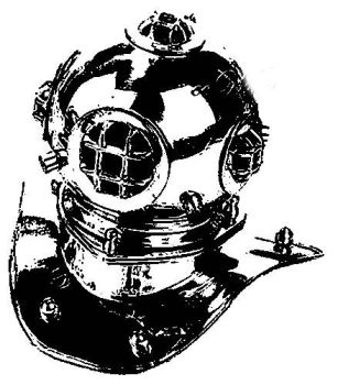Mark V diving helmet by the--Z
