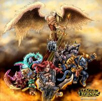 League of Legends Dominion by Deadguybeer