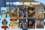 My Top Ten Total Drama Moments by TheOriginalDragonX