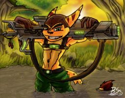 Ratchets new clank by Captainfusion
