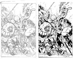 JOE MADUREIRA Avenging Spiderman # 1 by Sandoval-Art