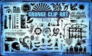 Free grunge vector clip art by FrenchTeilhard