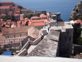 dubrovnika old fortress by lucaport