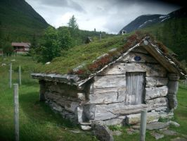 Little house (Norway) by DarkSkylla