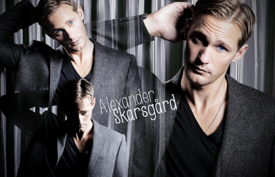 Alexander Skarsgard | Gray All Over by JamieRose89
