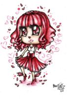 Red Dancer by CUTE-ChibiMONSTERZ