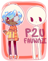 -P2U- [A Plus base] + adopt raffle by Fauwnii