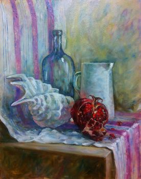 Still life with shell by KateHubar