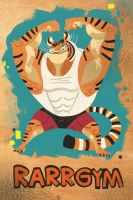 Gym Tiger by galgard