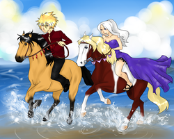 Racing the Wind by Equestrian-Equine