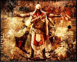 Ezio Auditore da Firenze WP by Candido1225