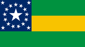 Flag of Brazil, CSA Puppet by lamnay