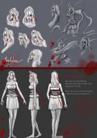 ModelSheet by Wkailiao