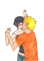 NaruHina Kiss by Snowball-III