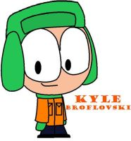Kyle...done wif a mouse by Nicktoonacle