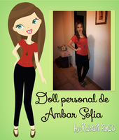 Doll personal de Ambar Sofia by RoohEditions