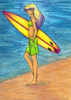 Ready to Surf by nataliewhipple