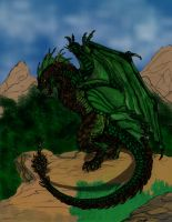 Wyvern Color Incomplete by draks