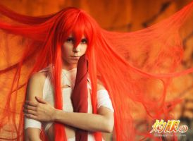 Shana cosplay 2 by Tenori-Tiger