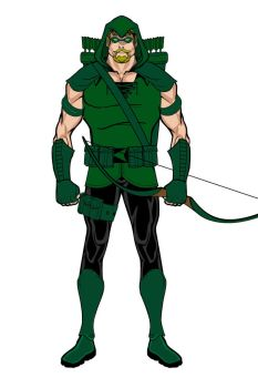 Green Arrow by WilliamZimmermann